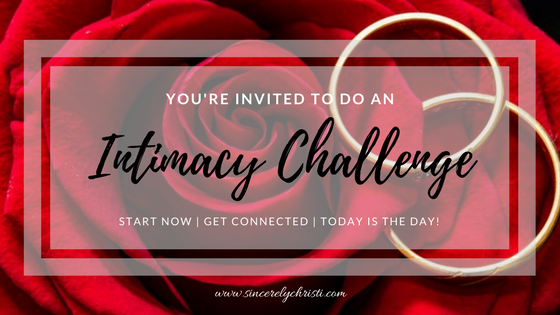 An Intimacy Challenge to Transform Your Marriage